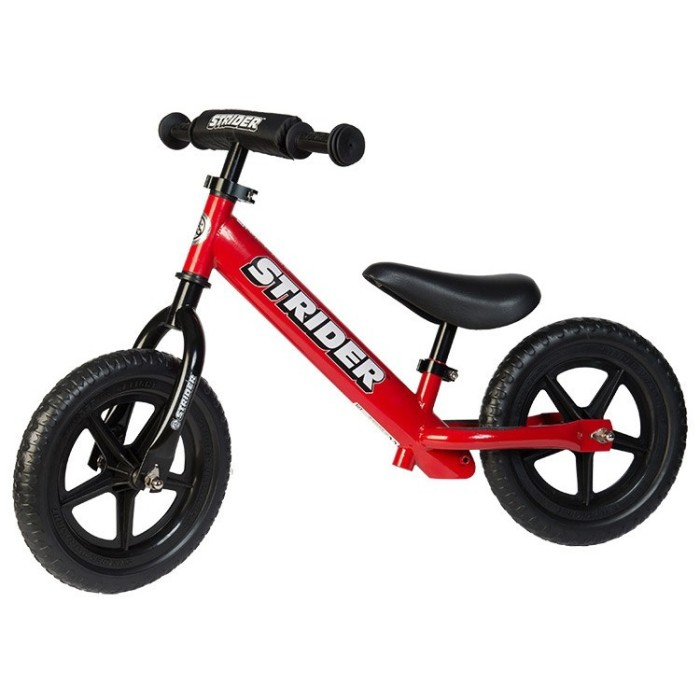 strider balance bike red