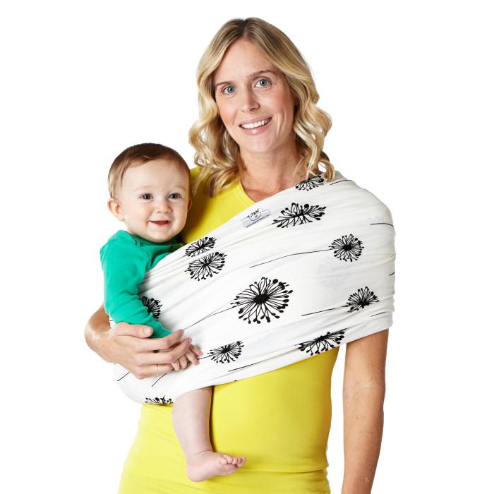 Baby K'tan print Baby Carrier babywearing best baby wrap dandelion