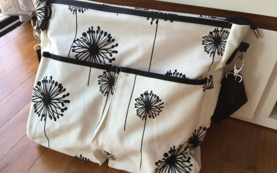 Mum's Calling Baby K'tan Diaper Bag Review