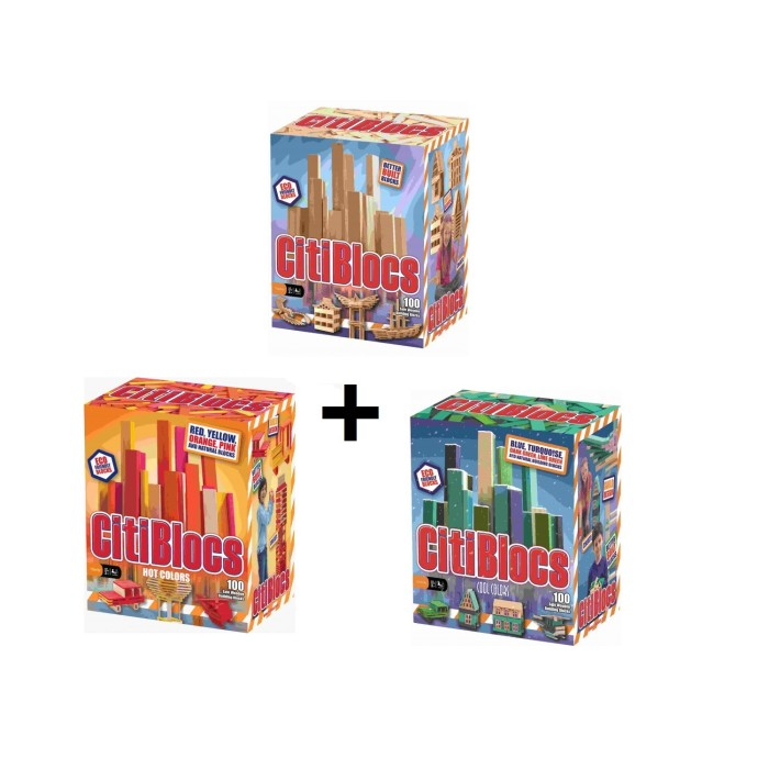 Bundle - Citiblocs 3 colour 100