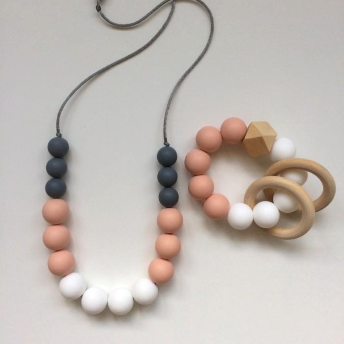 Jambu Beads Peony Mum & Bub Set