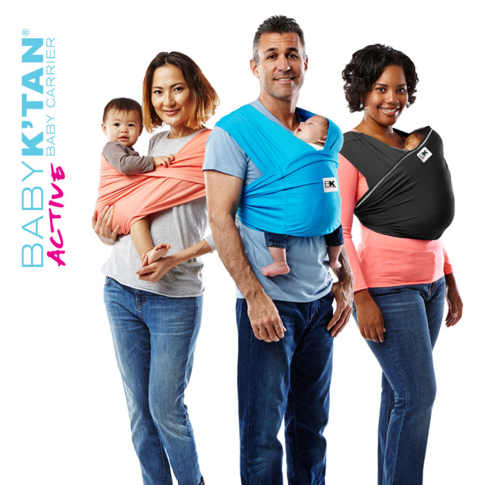 Baby K'tan Active Baby Carrier babywearing best baby wrap